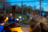 Coach Ed Anderson Softball Field Dedication, Batavia HS