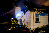 House fire on Bridge Road, Elba, May 6, 2015