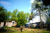 East Shelby Road, Oakfield, Fire, May 10, 2015