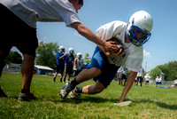 2015 Preseason Football Practices