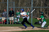 Girls Softball, Batavia vs Pembroke, April 23