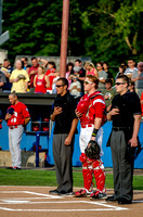 Batavia Muckdogs vs. Auburn Doubledays, July 4 2013