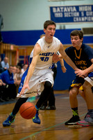 Batavia v Wayne Boys Hoops Section V Playoff 2015