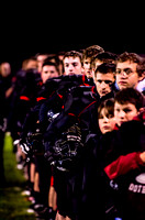 Le Roy vs. Dansville Section V Football Playoff