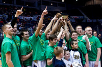Notre Dame Section V Championship Basketball Victory