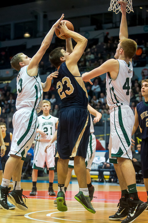 Notre Dame vs. Genesee Valley Section V Class D1 Championship 2015