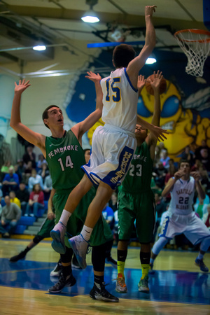 Pembroke vs Oakfield-Alabama Basketball Dec. 22 2014