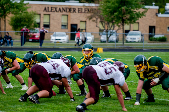 Elba/Byron-Bergen at Alexander Football Sept. 7 2013