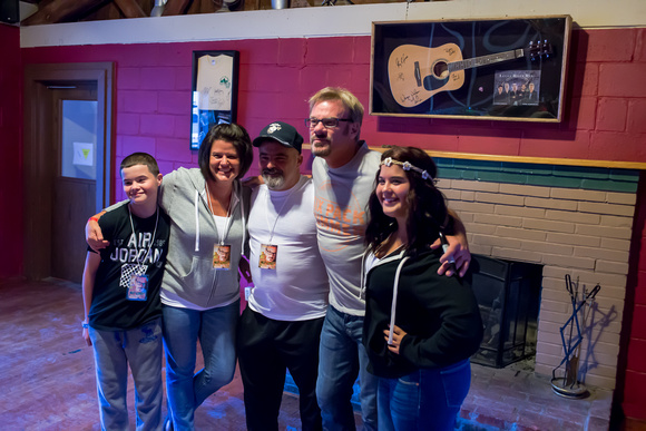 Phil Vassar and Morgan Twins at Frost Ridge Aug. 23 2014