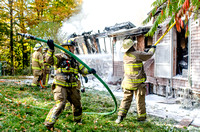 Telephone Road, Pavilion Fire Oct. 9