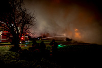 Caswell Road, Byron, Fire Dec 19 2014
