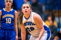Batavia Girls Basketball Jan 19 2016