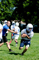 Preseason Football Practice in Genesee County